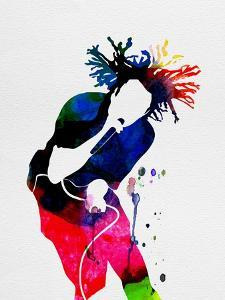 Rage Against the Machine Watercolor by Lana Feldman