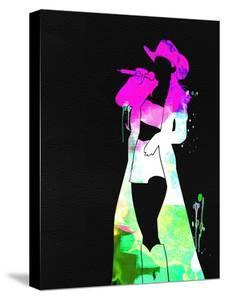 Shania Watercolor by Lana Feldman