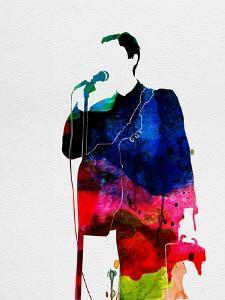 Talking Heads Watercolor by Lana Feldman