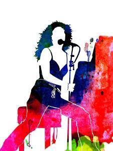 Tori Amos Watercolor by Lana Feldman
