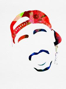 Tupac Watercolor by Lana Feldman