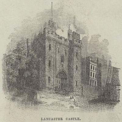 Lancaster Castle--Giclee Print