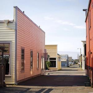 Fort Bragg Alleyway by Lance Kuehne