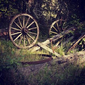 Wagon Wheels by Lance Kuehne