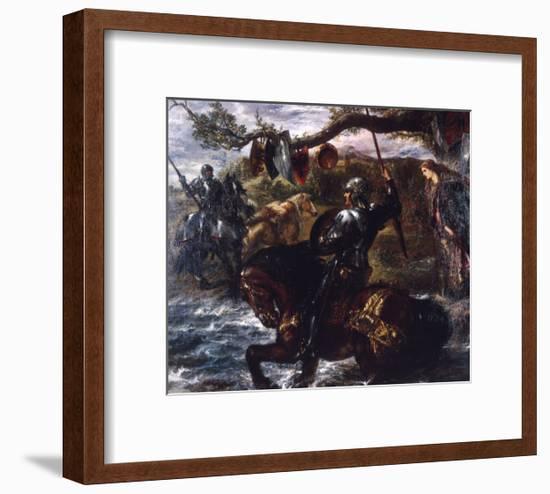 Lancelot Du Lac, 1886-John Gilbert-Framed Giclee Print