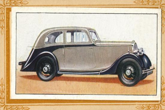 'Lanchester 10 Streamlined Saloon', c1936-Unknown-Giclee Print