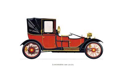 Lanchester, 1908--Art Print