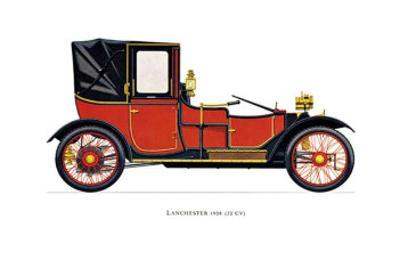 Lanchester, 1908