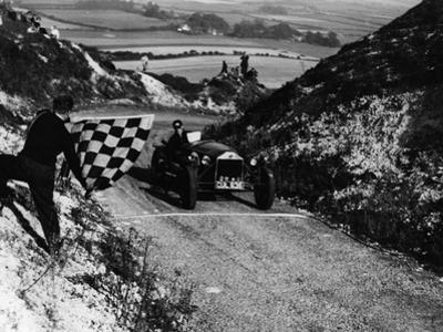 Lancia Lambda, Firle Hill Climb, Sussex, September 1951