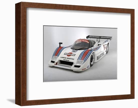 Lancia Martini Le Mans car chasis no 0007 1983-Simon Clay-Framed Photographic Print