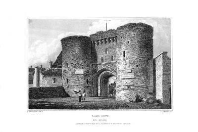 Land Gate, Rye, East Sussex, 1829-James Lambert-Giclee Print