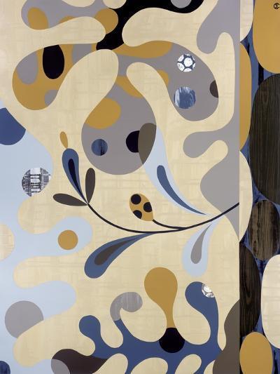 Land Meets Sea-Mary Calkins-Premium Giclee Print