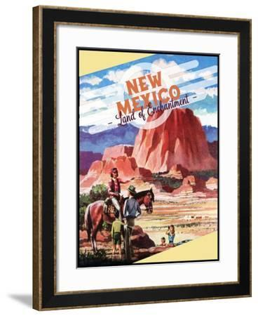 Land of Enchantment--Framed Giclee Print