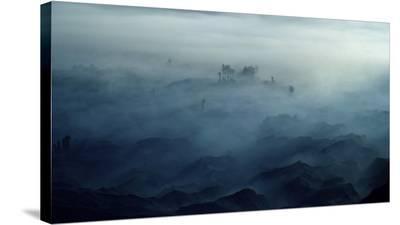 Land Of Fog-Rudi Gunawan-Stretched Canvas Print