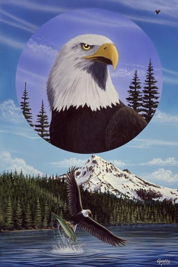 Land of the Free-Apollo-Giclee Print