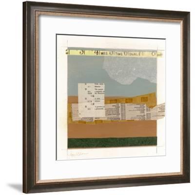 Land Patterns 5-Jan Weiss-Framed Art Print