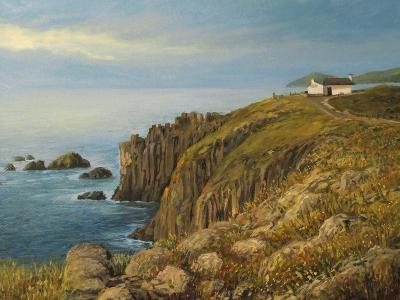 Land'S End In Cornwall-kirilstanchev-Art Print