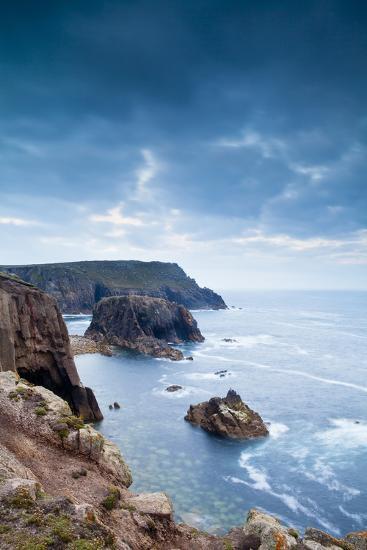 Land's End, Penzance, Cornwall, England, United Kingdom, Europe-Kav Dadfar-Photographic Print