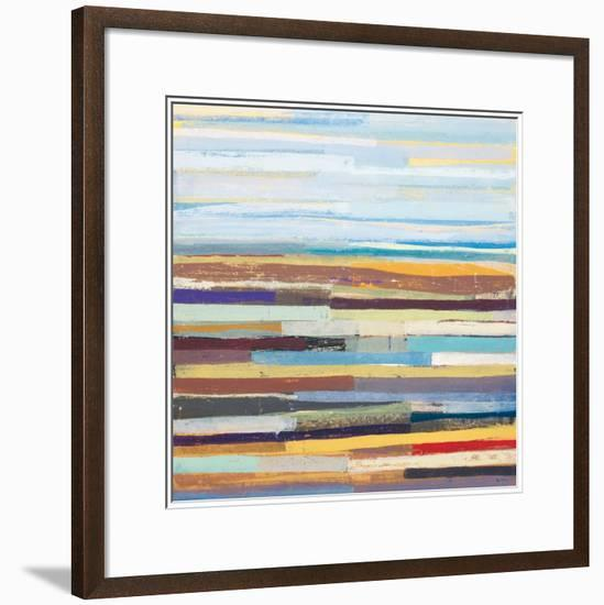 Landform II-David Bailey-Framed Art Print