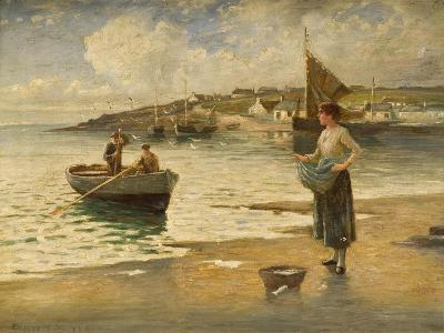 Landing a Catch, B-Eugene Joseph McSwiney-Giclee Print