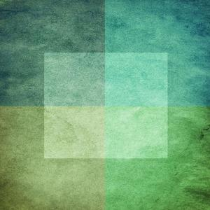 Grungy Watercolor-Like Graphic Abstract Background. Green by landio