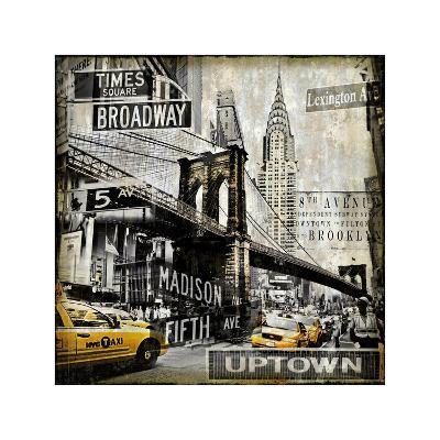 Landmarks NYC-Dylan Matthews-Giclee Print