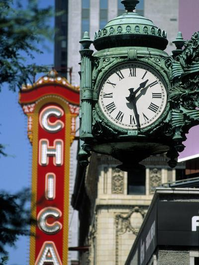 Landmarks on Two State St, Chicago, IL-Bruce Leighty-Photographic Print