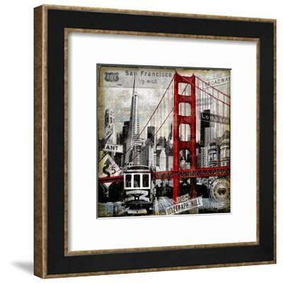 Landmarks San Francisco-Dylan Matthews-Framed Giclee Print