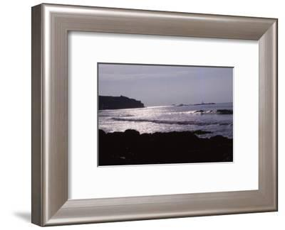Lands End, Cornwall, England, 20th century-CM Dixon-Framed Photographic Print
