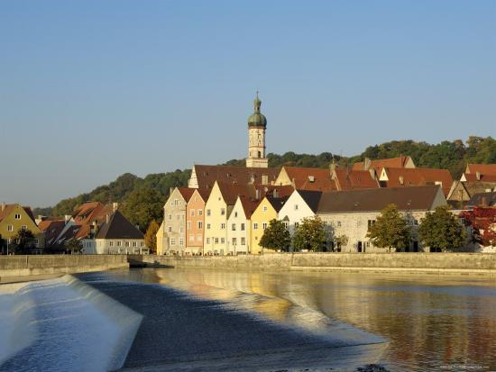 Landsberg Am Lech, Bavaria (Bayern), Germany-Gary Cook-Photographic Print