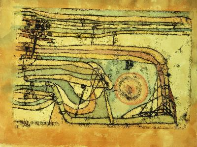 Landscaft im Pankenton-Paul Klee-Giclee Print