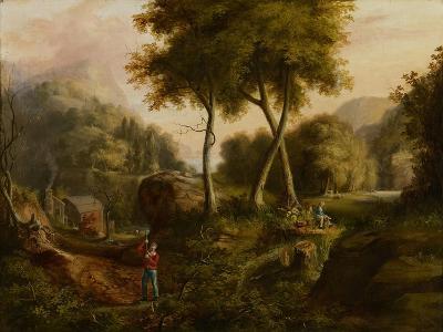Landscape, 1825-Thomas Cole-Giclee Print