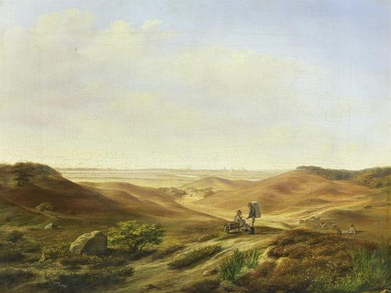 Landscape, 1835-John Wilhelm David Bantelmann-Giclee Print