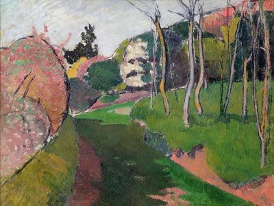 Landscape, 1889-Emile Bernard-Giclee Print