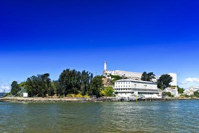 Art Alcatraz Island Abstract