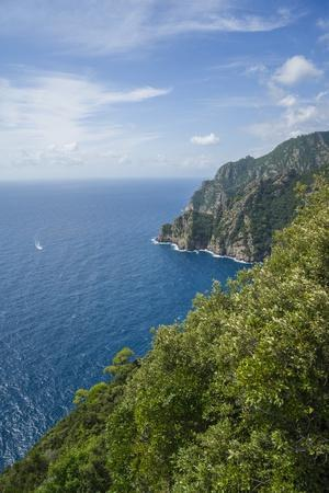 Landscape along the Trail to San Fruttuoso-Guido Cozzi-Photographic Print