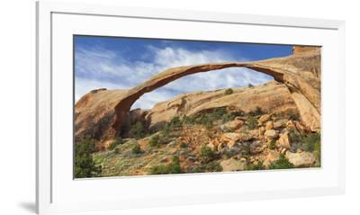 Landscape Arch, Devils Garden, Arches National Park, Utah, Usa-Rainer Mirau-Framed Photographic Print