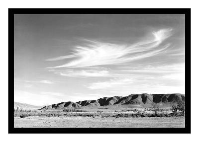 Landscape at Manzanar-Ansel Adams-Art Print