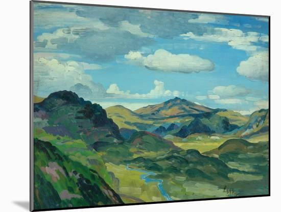 Landscape, C.1919-Derwent Lees-Mounted Giclee Print