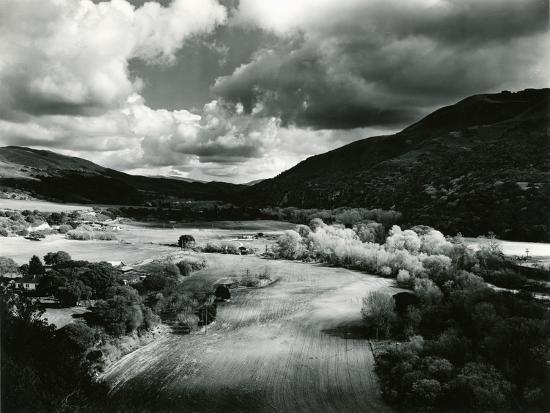 Landscape, Carmel Valley, 1952-Brett Weston-Photographic Print