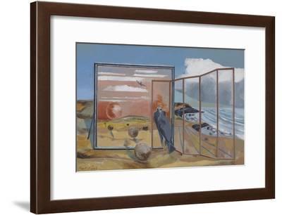 Landscape from a Dream-Paul Nash-Framed Giclee Print