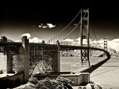Landscape - Golden Gate Bridge - San Francisco - California - United States-Philippe Hugonnard-Photographic Print