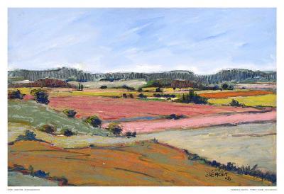 Landscape I-Jacques Clement-Art Print