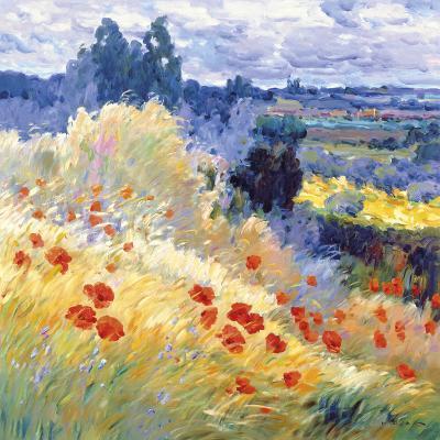 Landscape I-Malva-Giclee Print