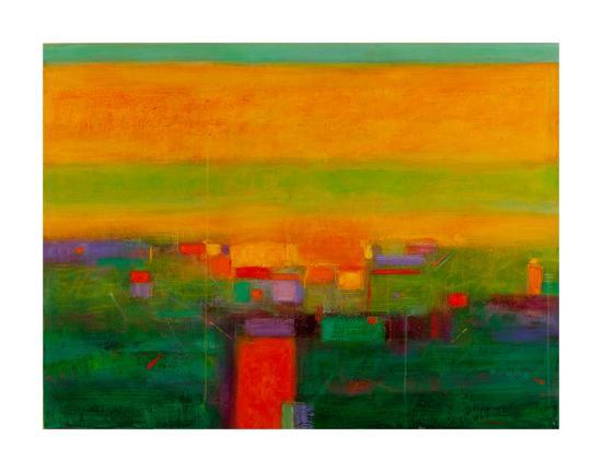 Landscape in Full Color-Gary Max Collins-Giclee Print
