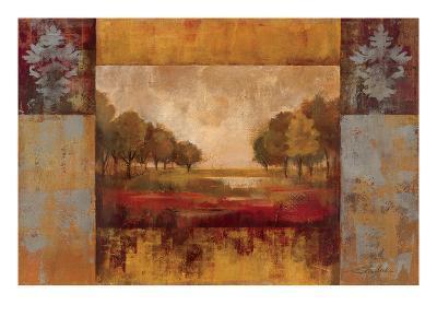 Landscape in Gold-Silvia Vassileva-Art Print
