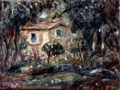 Landscape. Le Cannet, 1902-Pierre-Auguste Renoir-Giclee Print