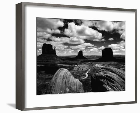 Landscape, Monument Valley, Utah, 1969-Brett Weston-Framed Photographic Print