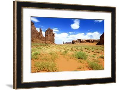 Landscape - Monument Valley - Utah - United States-Philippe Hugonnard-Framed Photographic Print