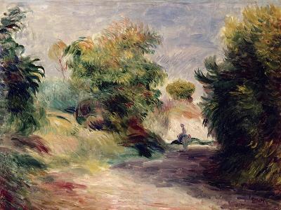 Landscape Near Cagnes, 1907-Pierre-Auguste Renoir-Giclee Print